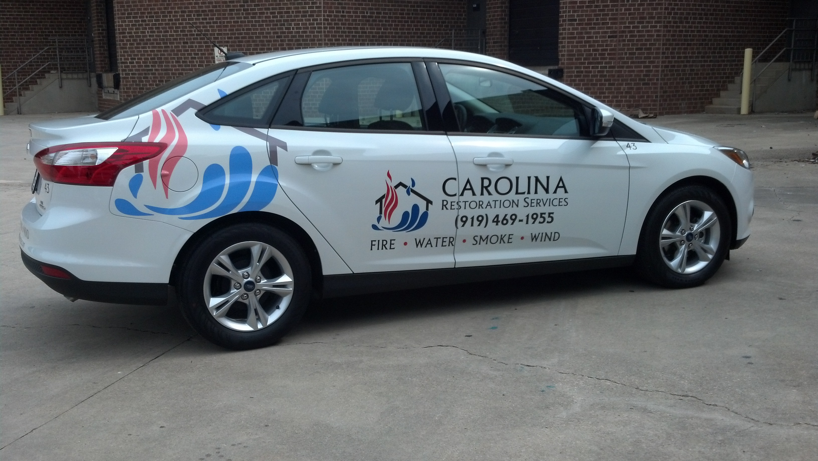 Capital Ford Raleigh >> Ford Fusion & Focus - Carolina Restoration Services | Signergy