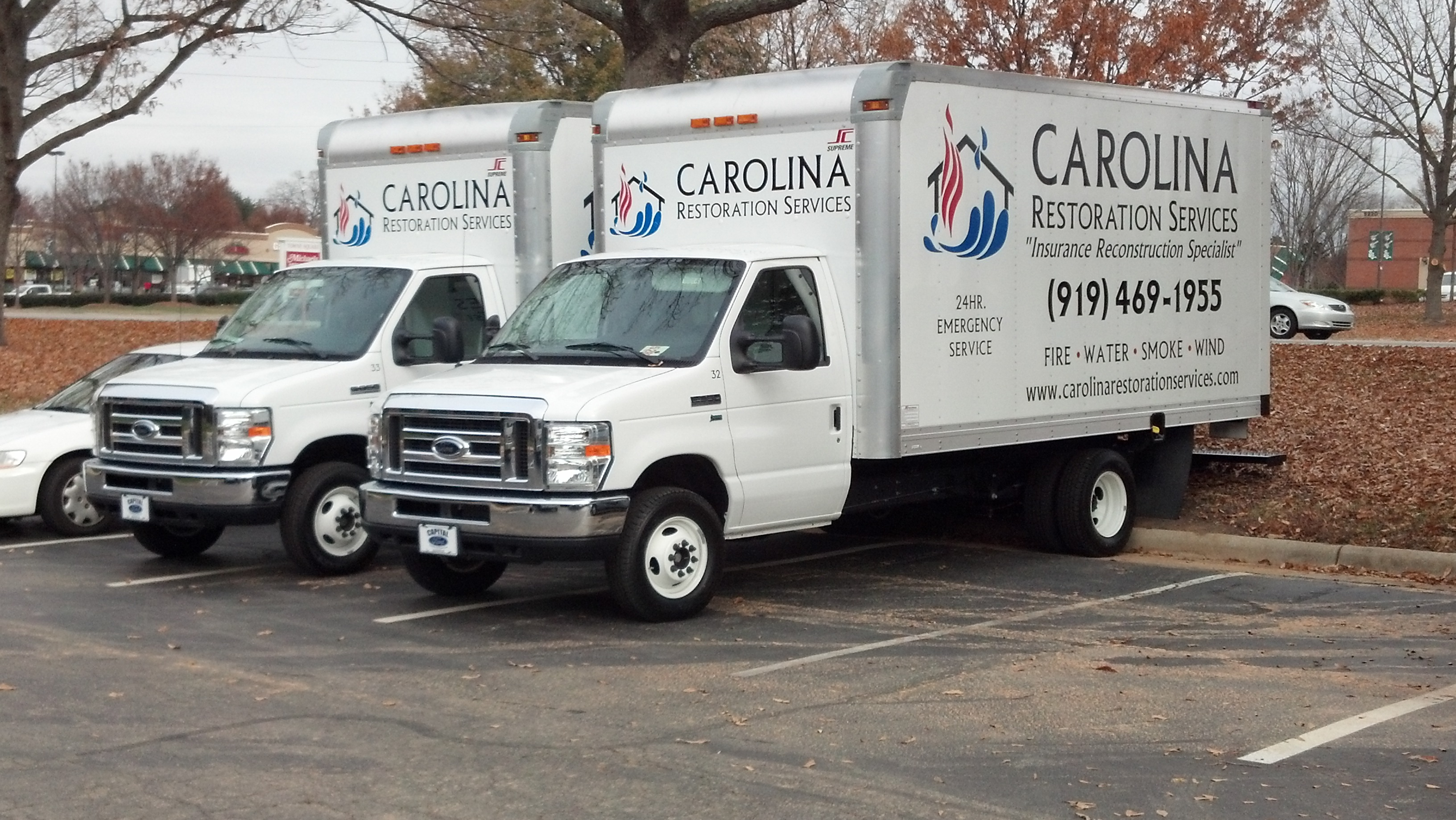 15 Box Truck Graphics Carolina Restoration Signergy