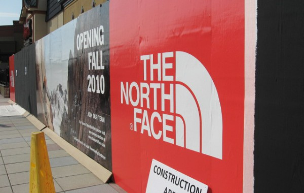 Large Format Digital Graphic Installation – The North Face
