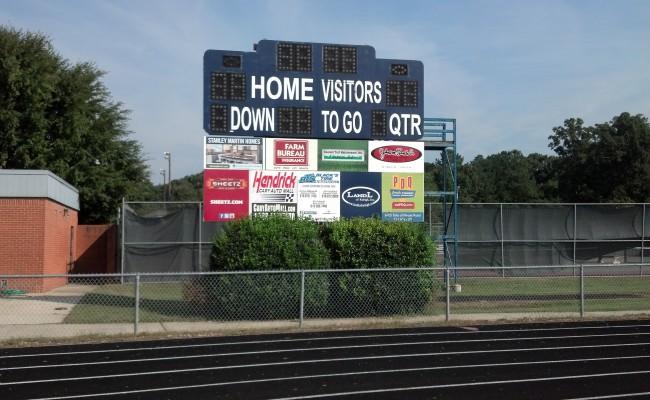 MHS Scoreboard Updates Installed