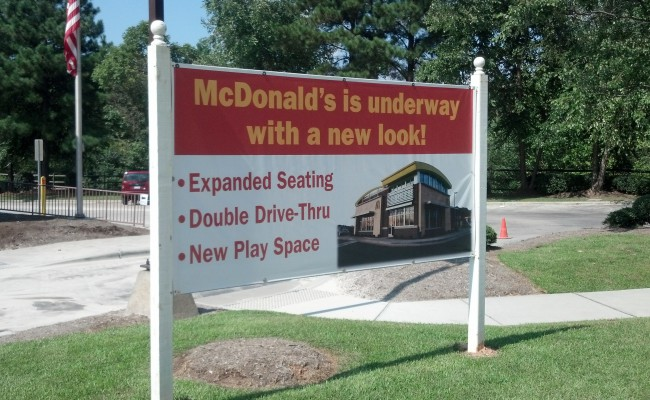 McDonalds_4x8_MountedAsSiteSign