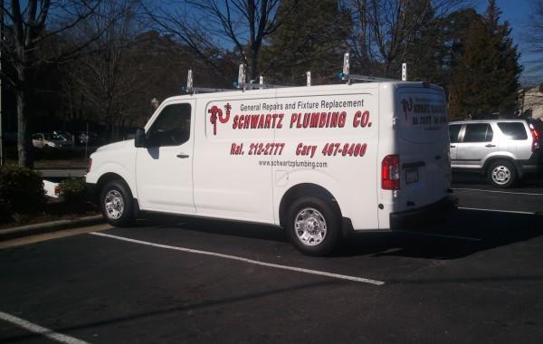 Schwartz Plumbing – Vehicle Graphics