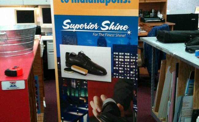 Superior Shine Spring4 Banner Stand