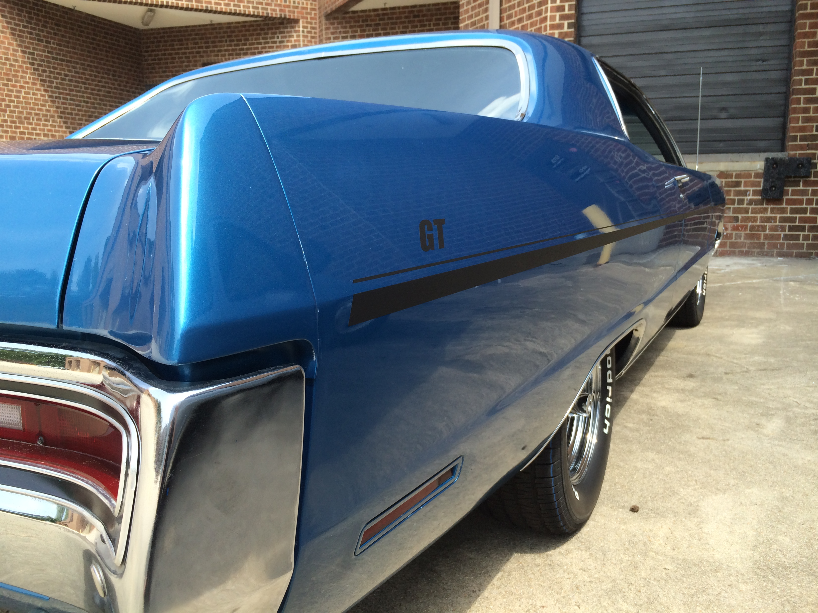 1970 Plymouth Fury Matte Black Striping Signergy