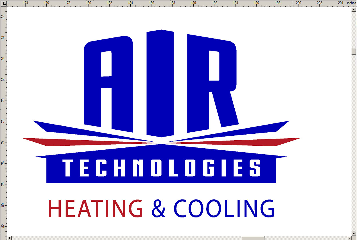 Air Technologies Logo And Vehicle Lettering Signergy