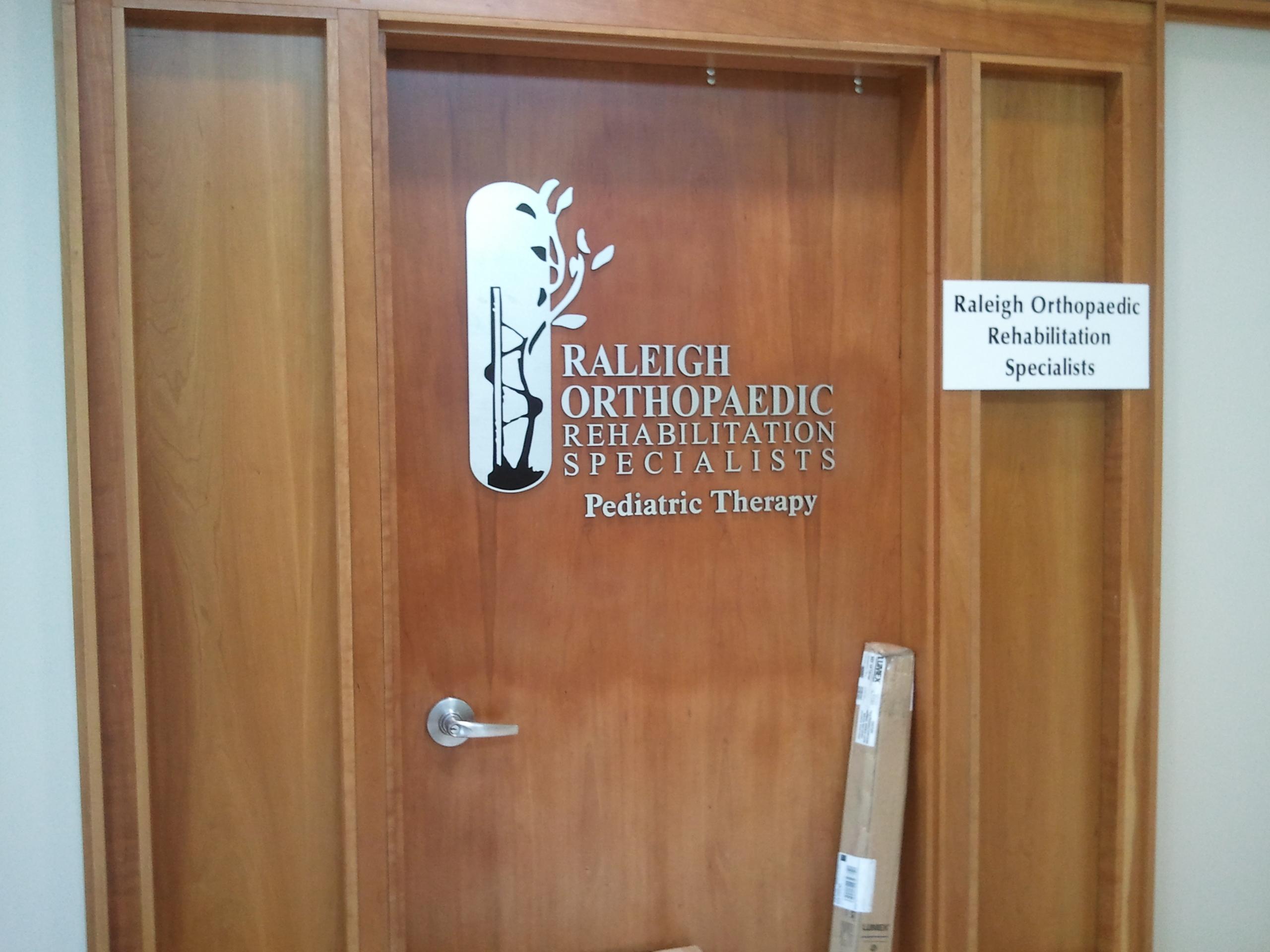 Medical Office Door Logo Highwoods Signergy