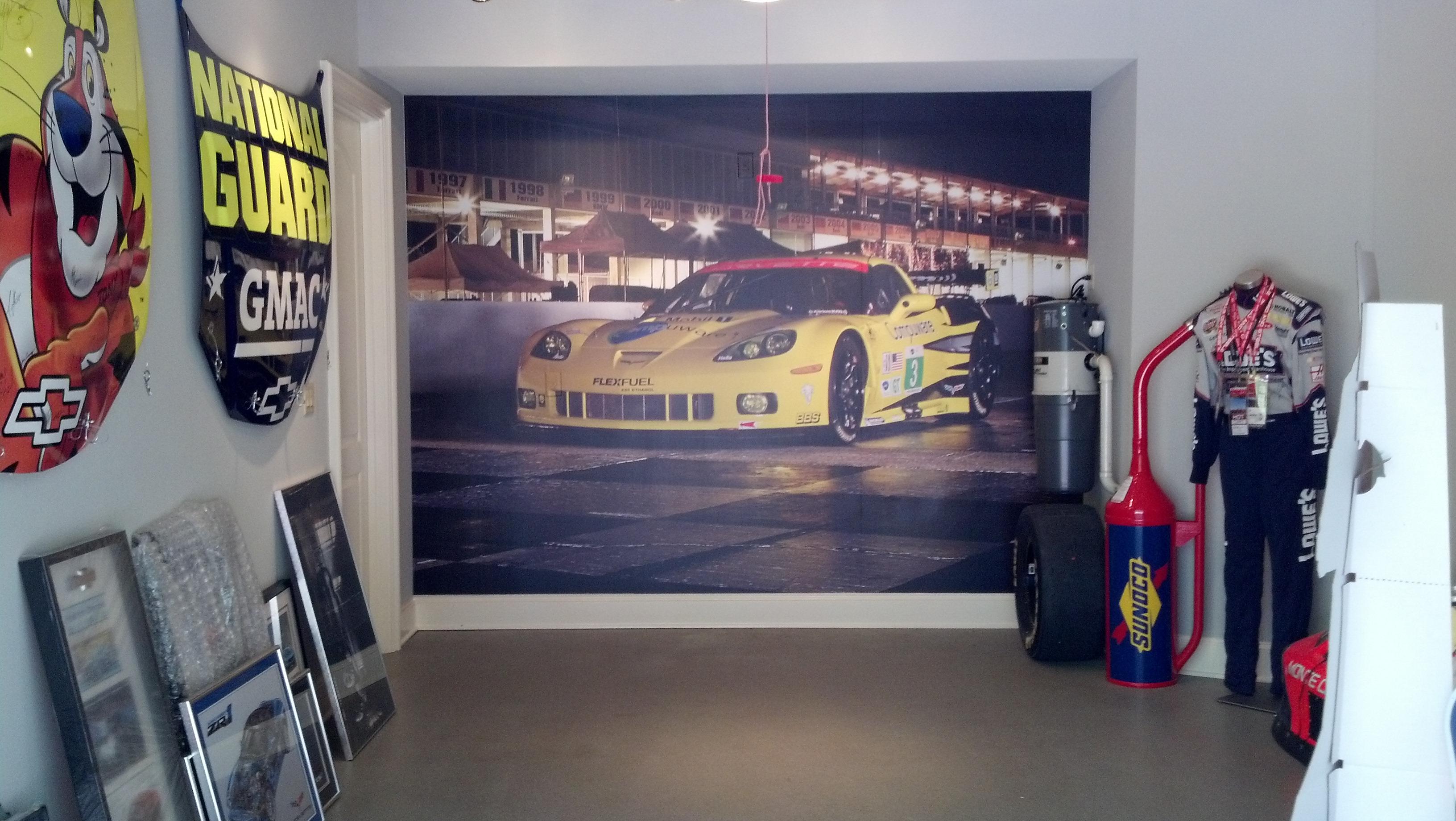 Hendrick Wall Mural Home Garage Signergy