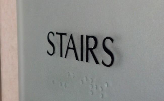 3737GlenwoodAve_Stairs_OldGlassInsert