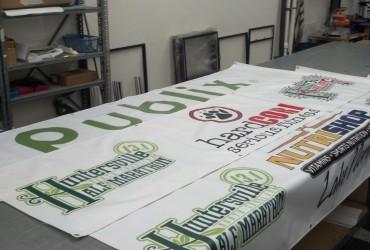 Huntersville 5K & Half Marathon – Banners & Yard Signs