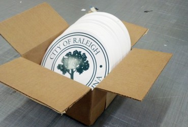 City seal decals – City of Raleigh Fleet Services