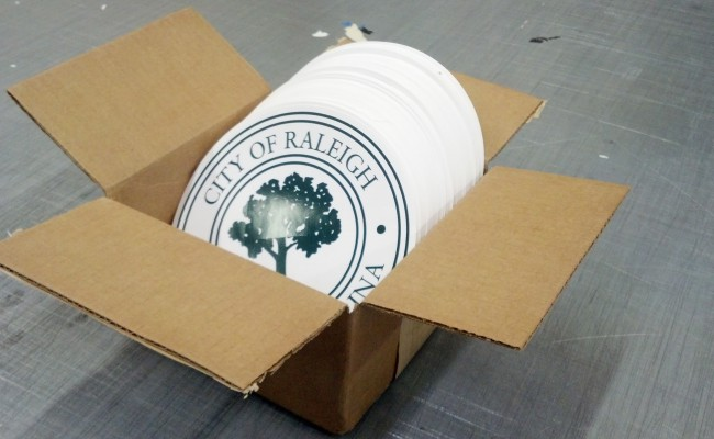 City of Raleigh 8Inch city seals