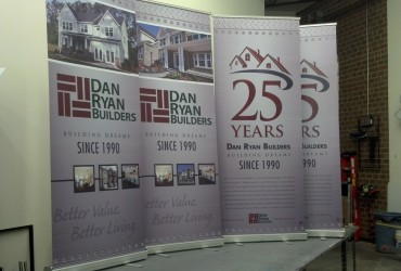 Trade show banners – Dan Ryan Builders