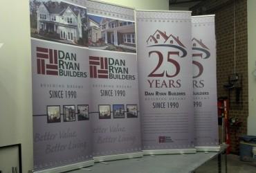 Trade show banners – Dan Ryan Builders