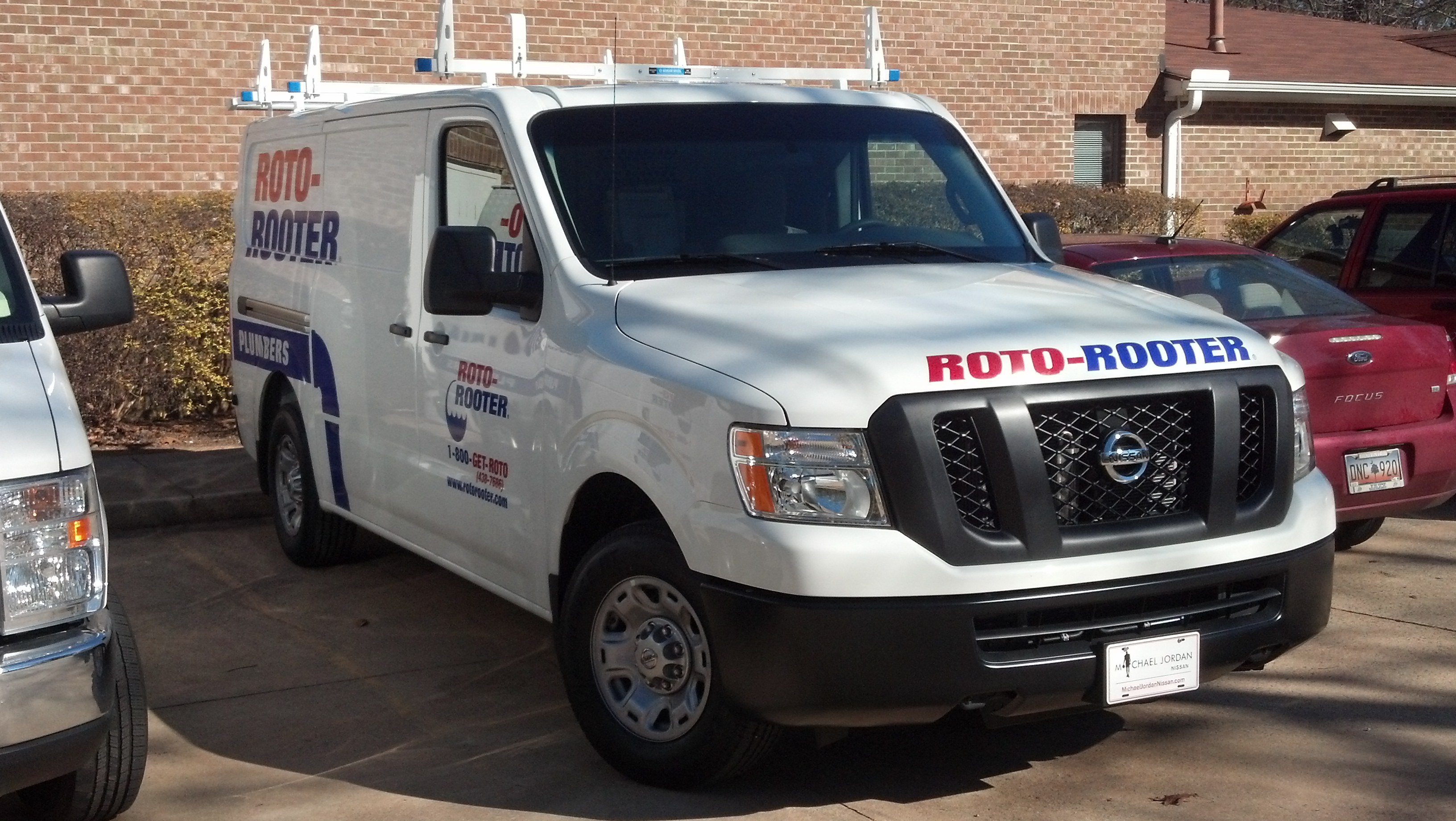 Roto Rooter Large Van Graphics Installations Signergy