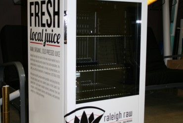 Mini fridge wrap – Raleigh Raw