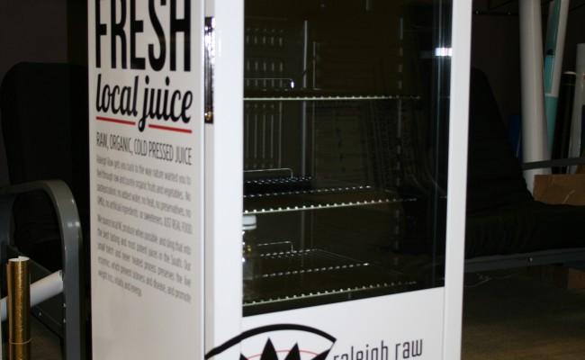 Mini fridge wrap for Raleigh Raw