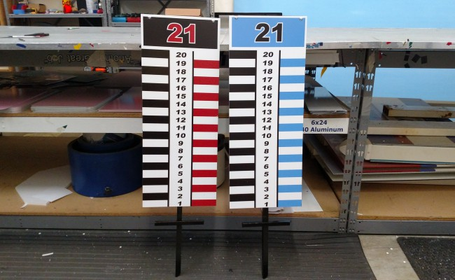 Custom Corn Hole Score Board