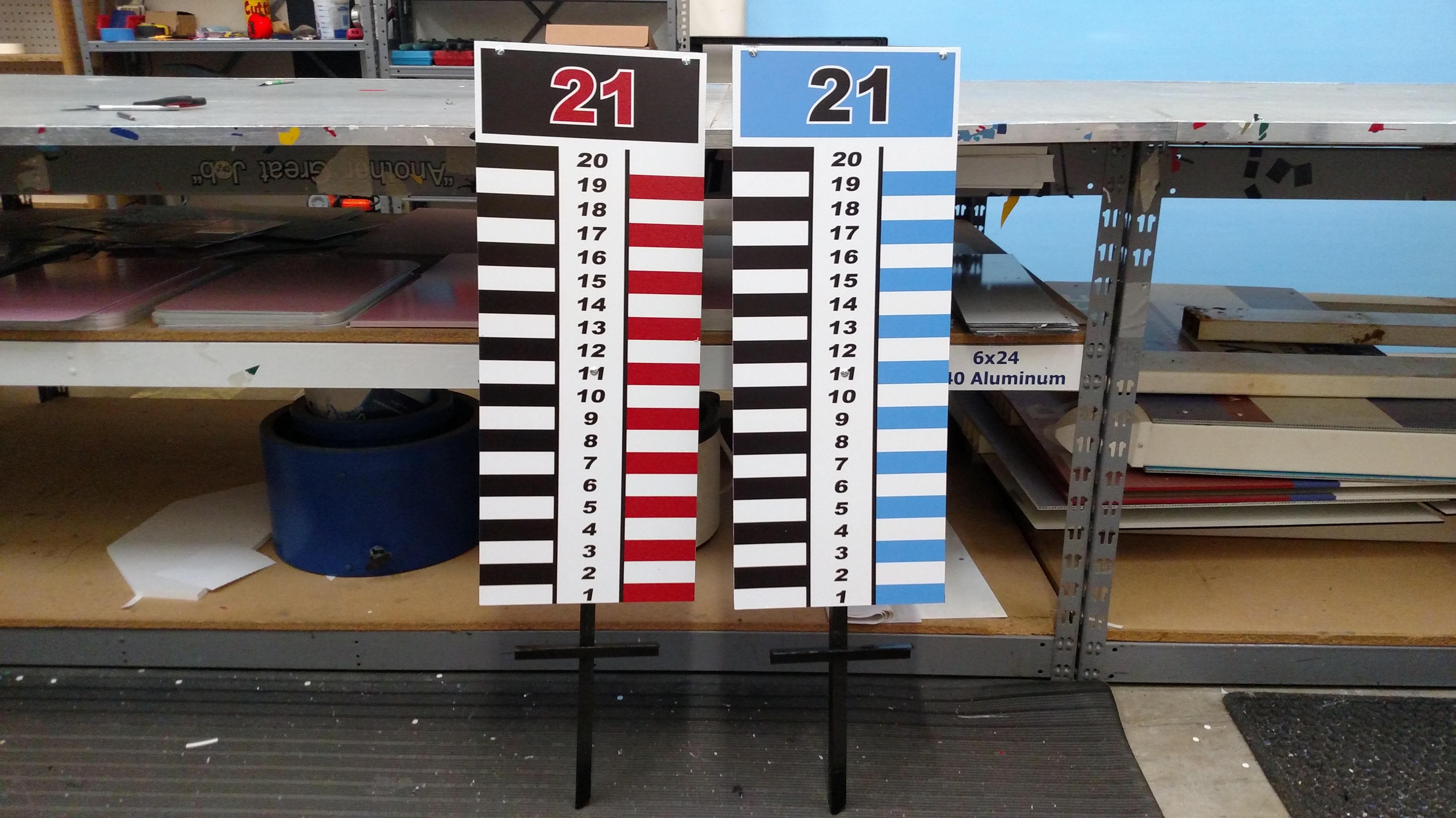 Cornhole Score Boards Signergy