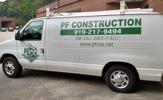 PF Construction Van