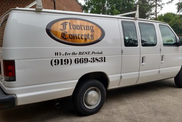 Flooring Concepts Van