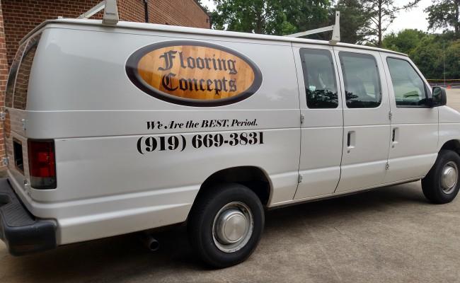 Flooring Concepts Van