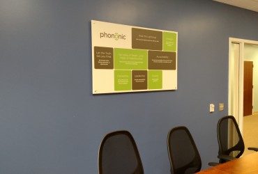 Office Signs Phononic Devices – Core Values Posters