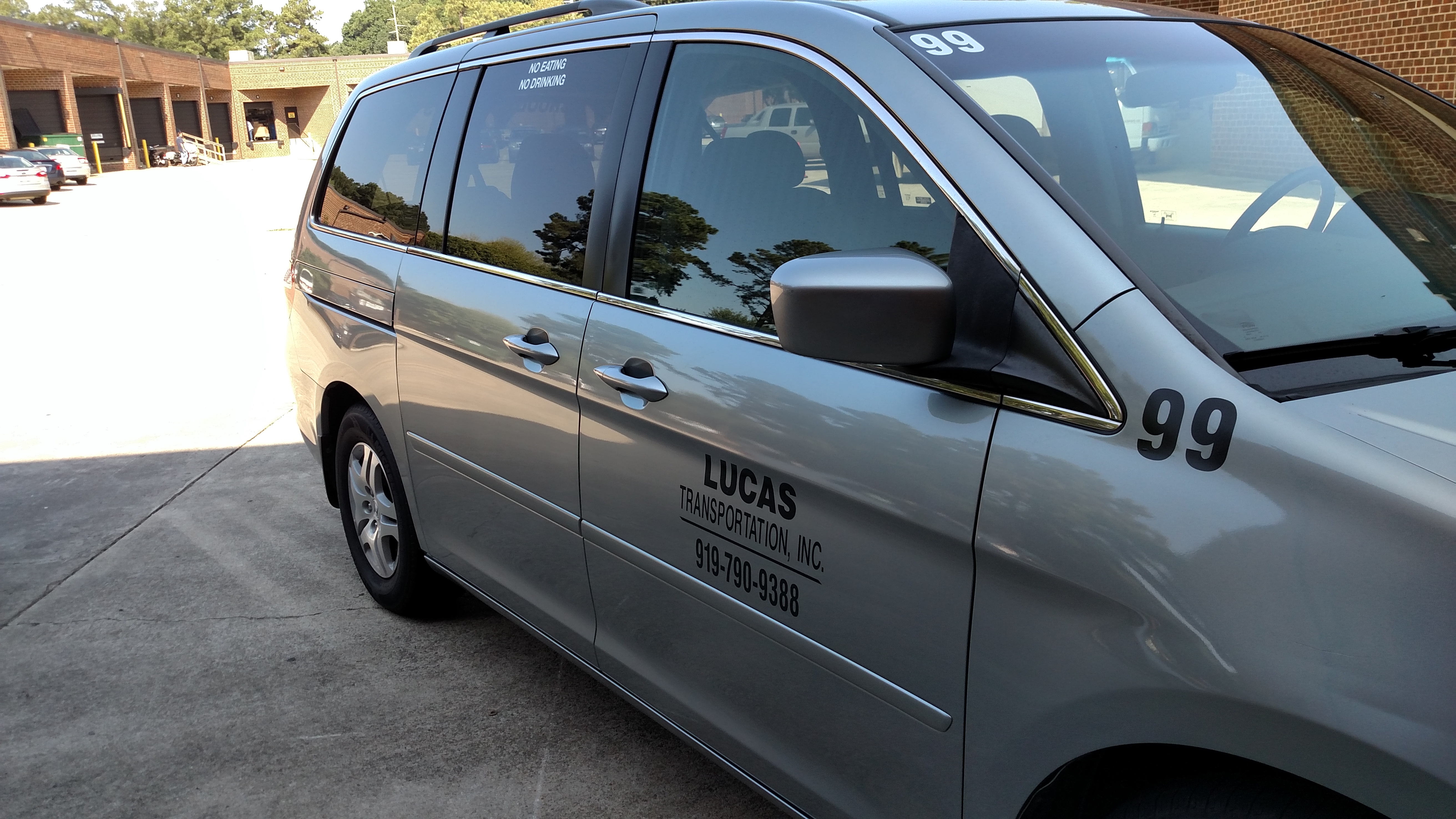 Vehicle Graphics For Lucas Transportation Signergy