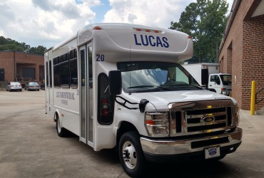 Vehicle Graphics for Lucas Transportation