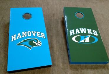 Cornhole Boards for Hanover High School