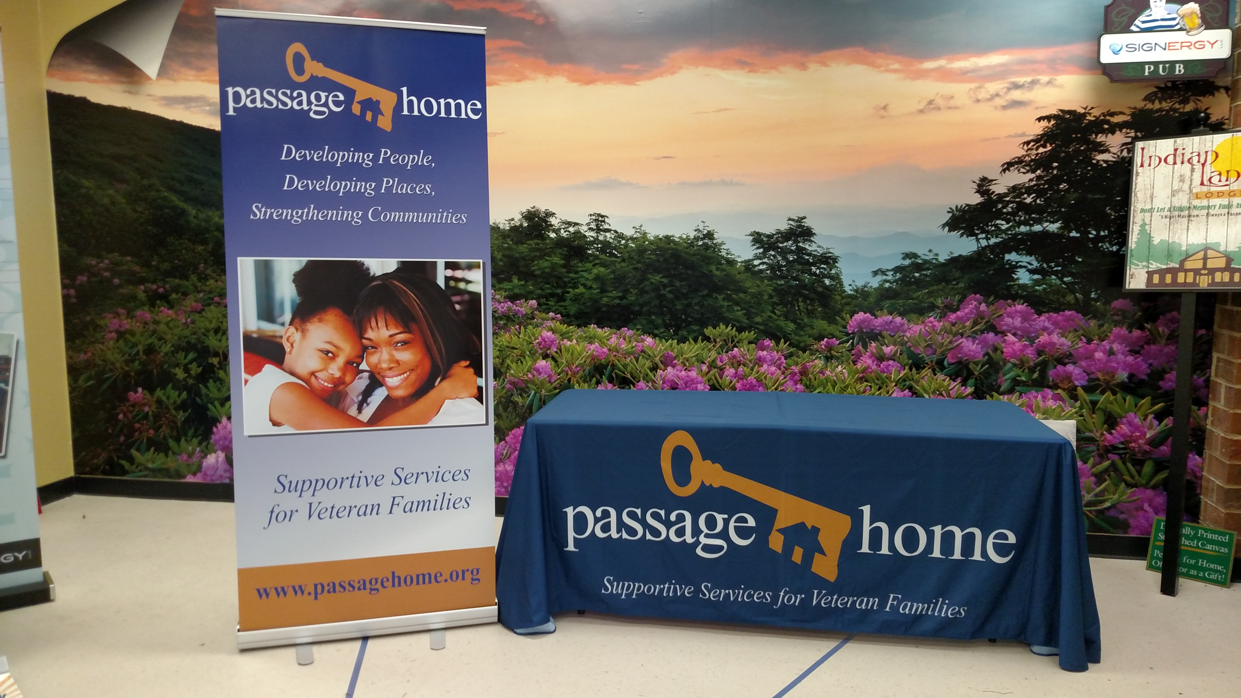 trade show items for passage home