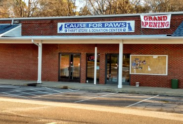 Cause For Paws Exterior and Interior Signs