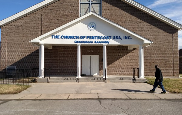 Church of the Pentecost Exterior Wall Sign