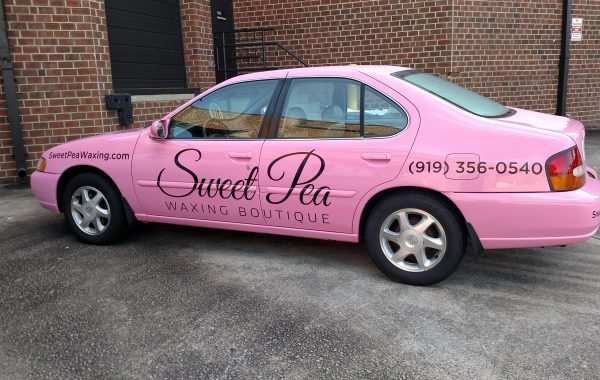 Sweet Pea Vehicle Graphics