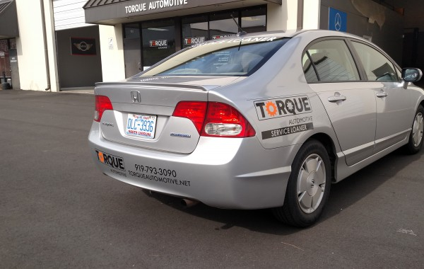 Torque Automotive Vehicle Graphics