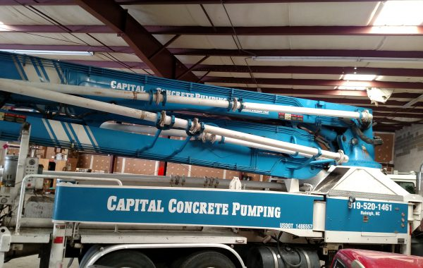 Capital Concrete Pumping Vinyl Graphics