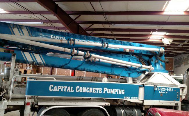 Capital Concrete Pumping
